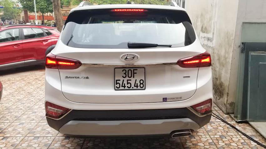 """danh hài Vượng """"râu"""" tậu Hyundai Santa Fe 2019"""