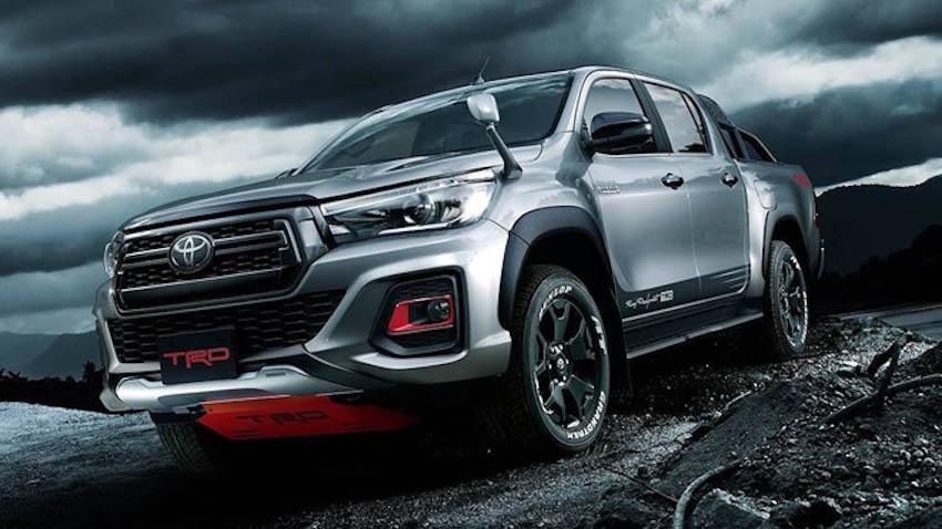 Toyota Hilux Black Rally 1