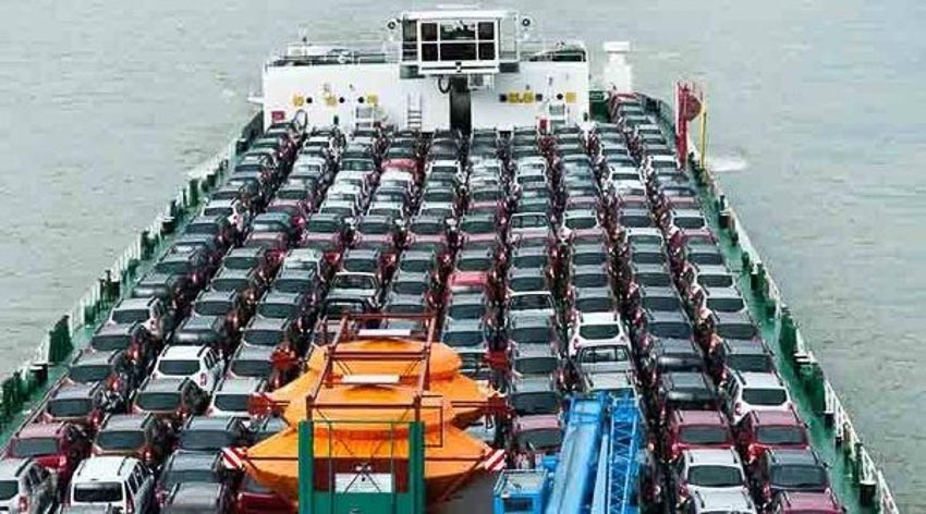 """3.500 xe Nissan đang """"mất tích"""" trên biển Thái Bình Dương 3"""