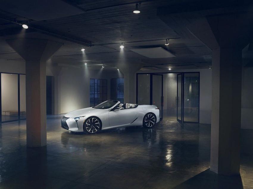Lexus LC Convertible 1