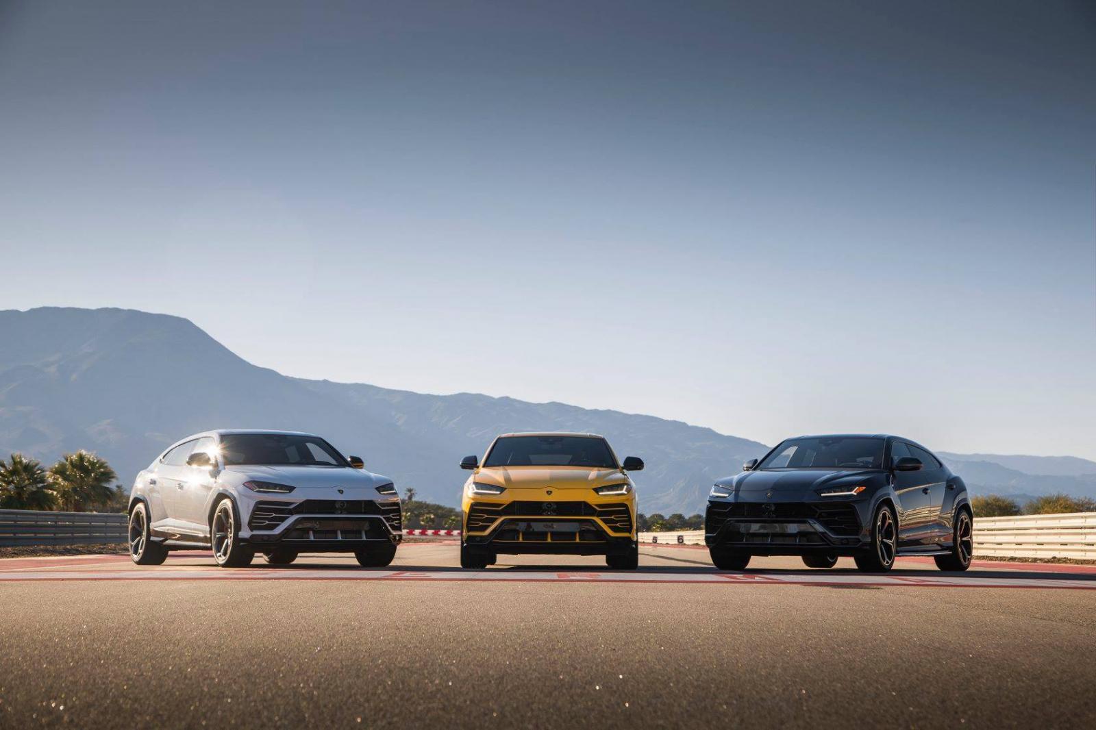 doanh số Lamborghini năm 2018