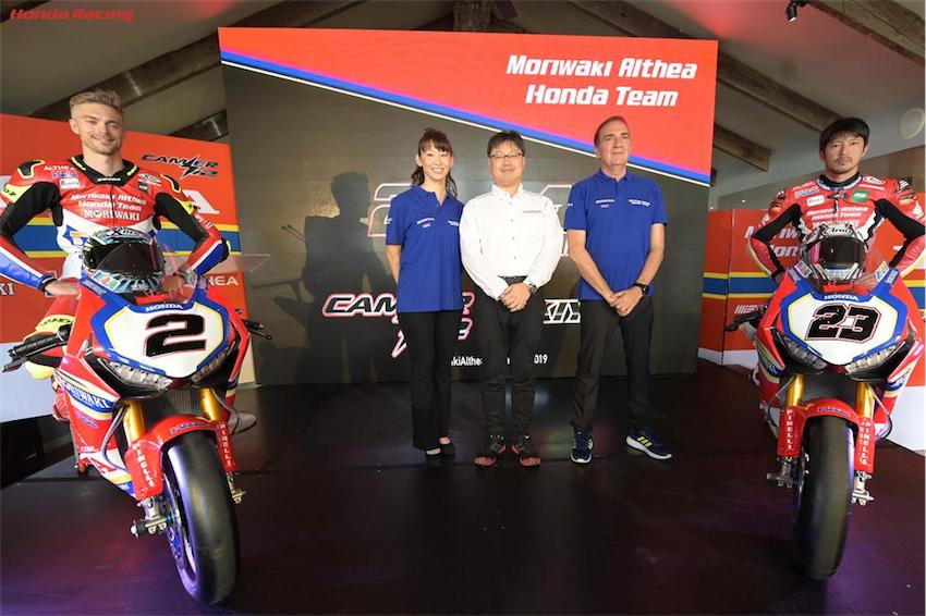 Đội đua Moriwaki Althea Honda công bố đội thi đấu - Anh 7