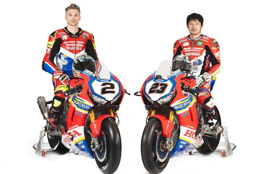 Đội đua Moriwaki Althea Honda công bố đội thi đấu - Anh 1