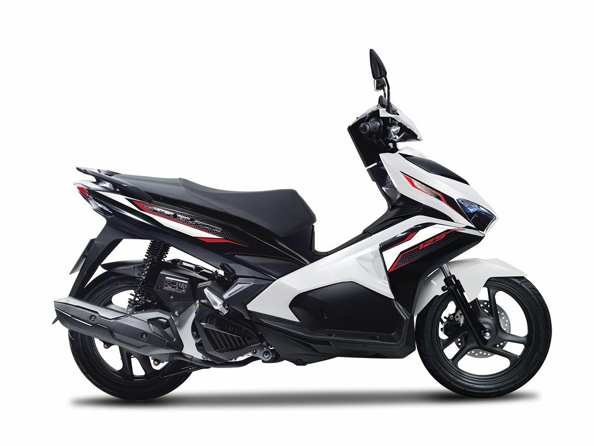 Honda Air Blade 125 cc và 150 cc màu mới vừa được giới thiệu ra thị trường.