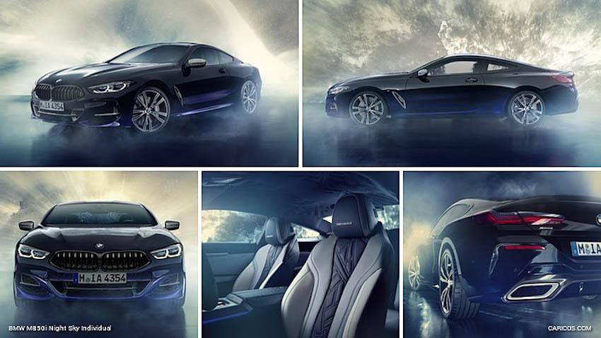 BMW Individual M850i Night Sky 1