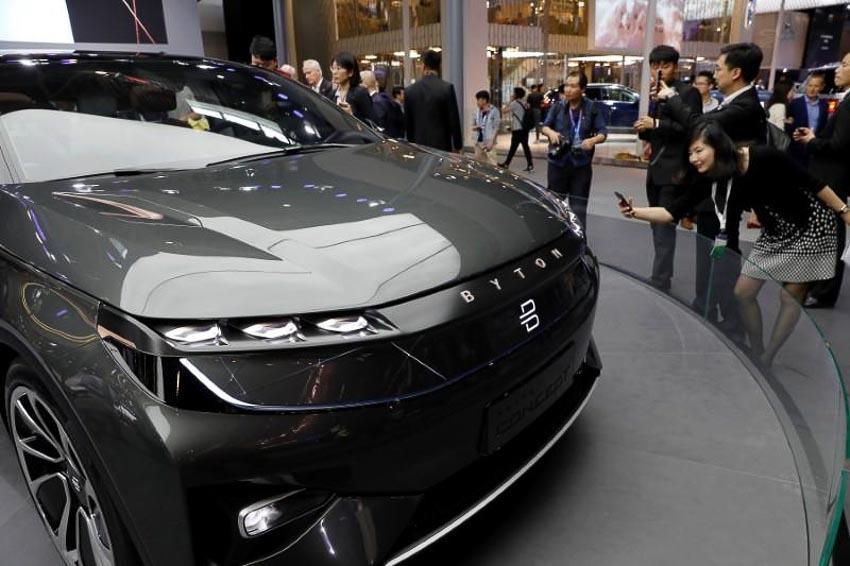 Doanh số ôtô Trung Quốc