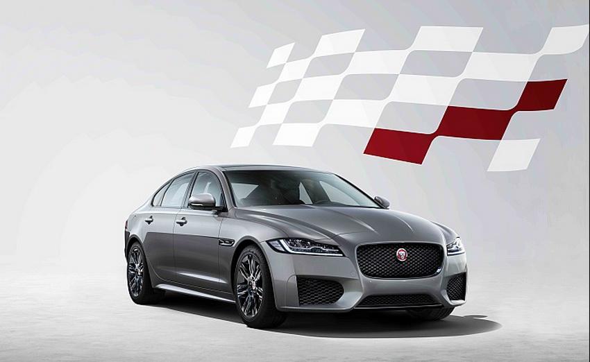 phiên bản đặc biệt Chequered Flag edition của Jaguar XF