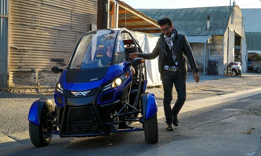 Xe điện 3 bánh Arcimoto FUV 2019
