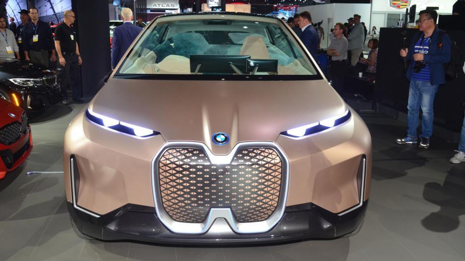 BMW iNEXT dự kiến xuất hiện năm 2021 - 2