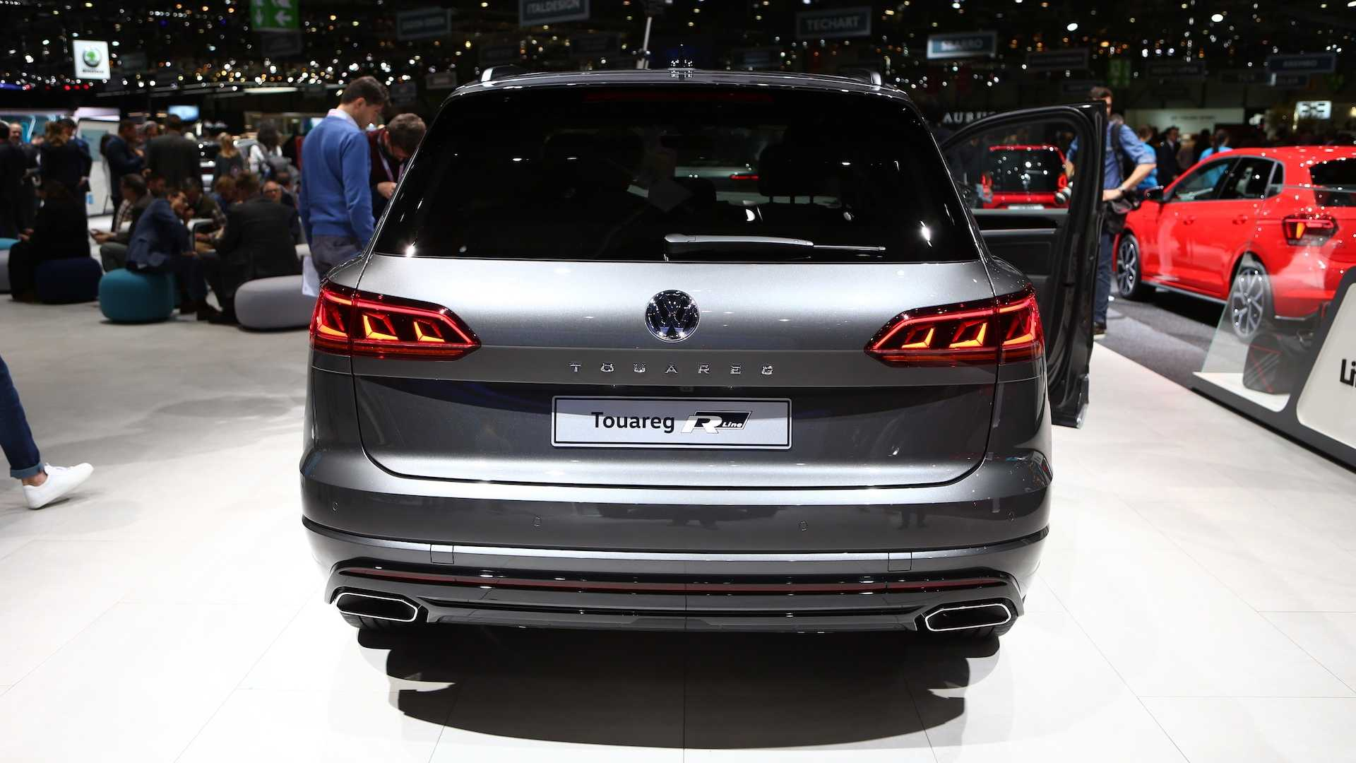 VolkswagenTouareg V8 TDI mới, máy dầu V8 có mô-men xoắn lên tới 900Nm - 03