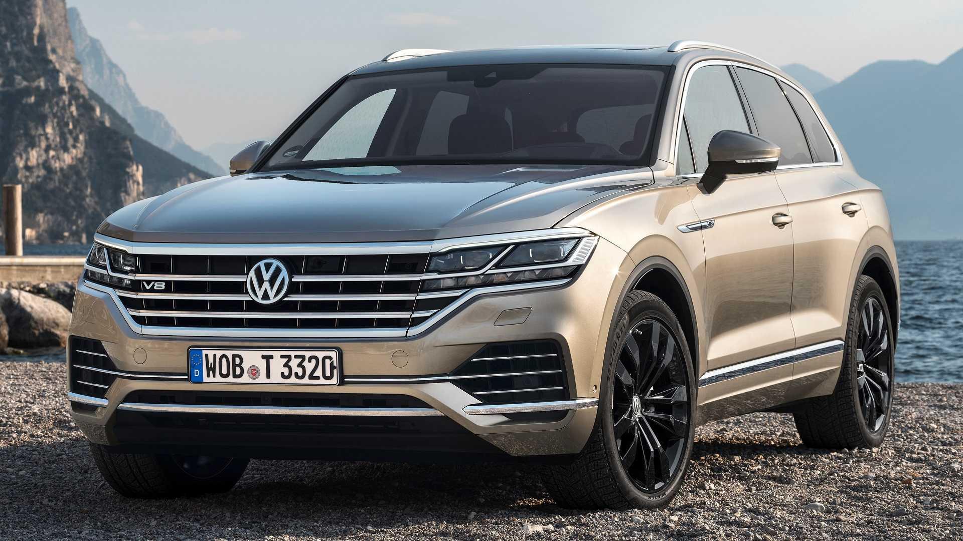 VolkswagenTouareg V8 TDI mới, máy dầu V8 có mô-men xoắn lên tới 900Nm - 06