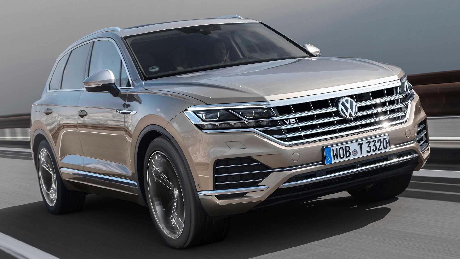 VolkswagenTouareg V8 TDI mới, máy dầu V8 có mô-men xoắn lên tới 900Nm - 08