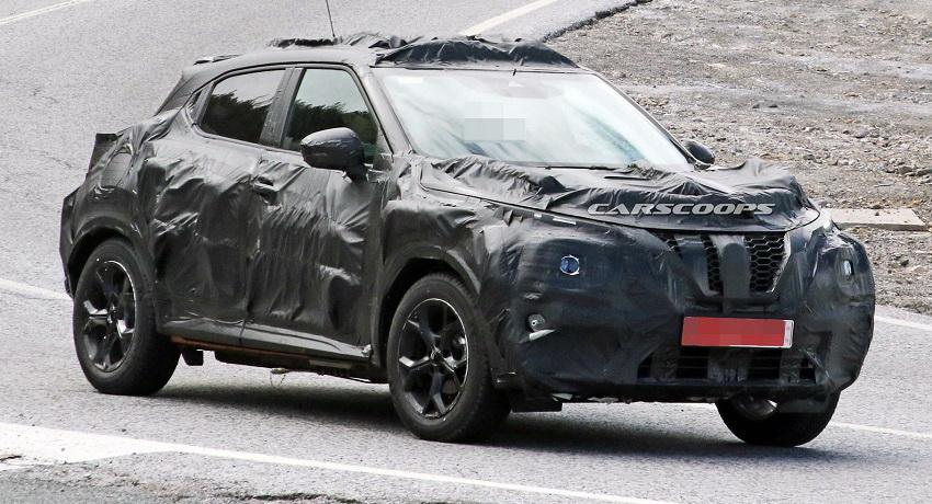 Mẫu xe Nissan Juke 2020