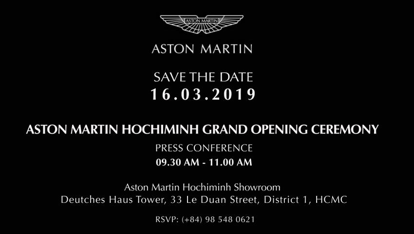 Showroom Aston Martin tại Việt Nam