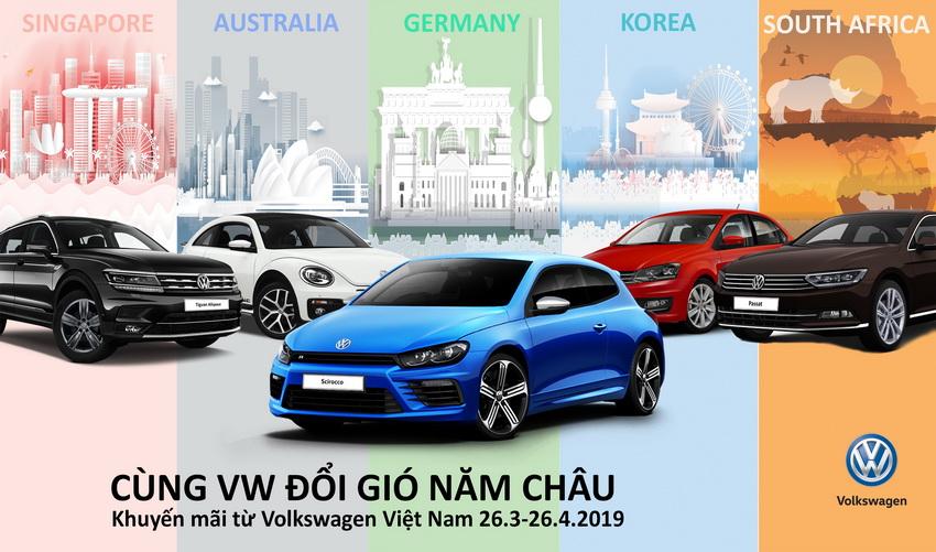 khuyến mãi dành cho khách mua xe Volkswagen