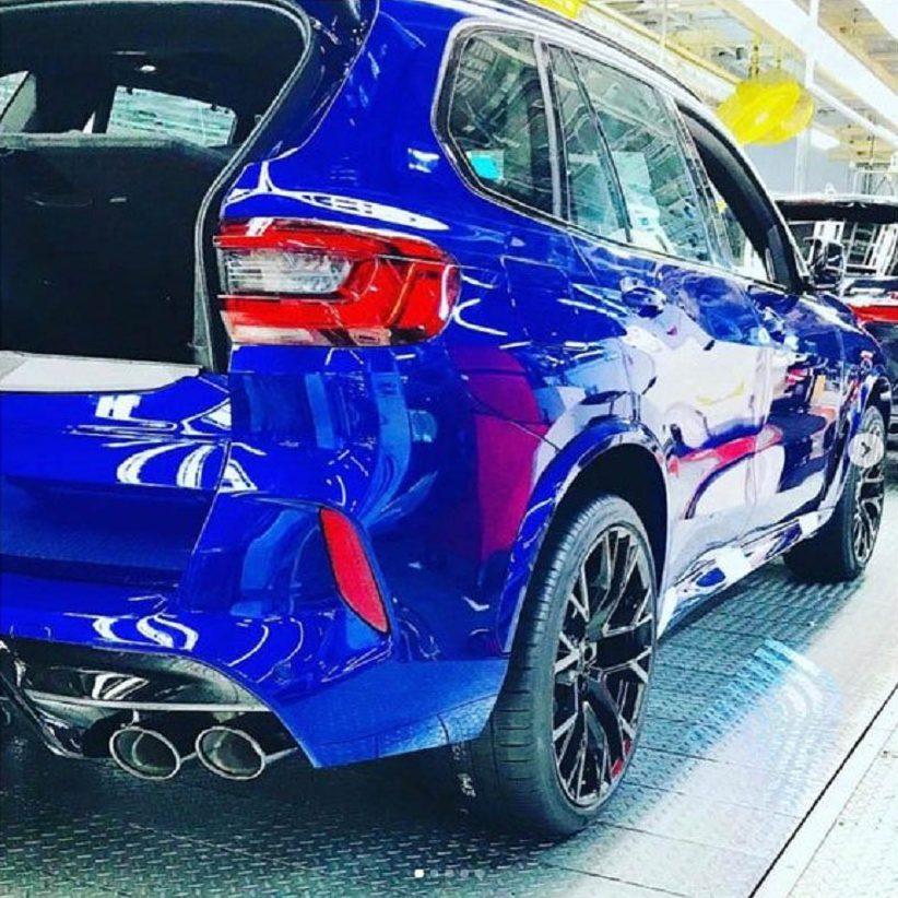 Mẫu xe SUV BMW X5 M mới
