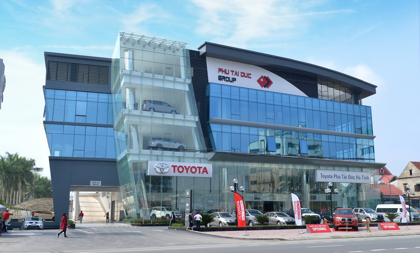 Đại lý Toyota Phú Tài Đức