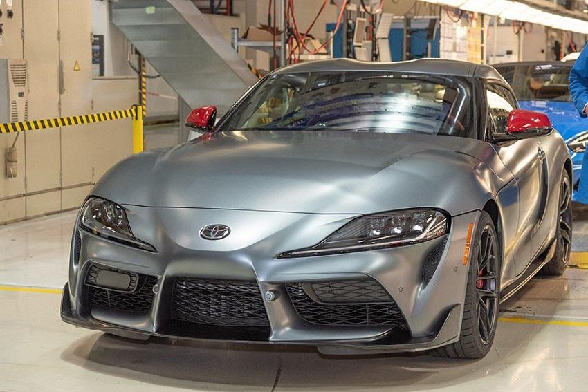 Mẫu xe Toyota GR Supra 2020