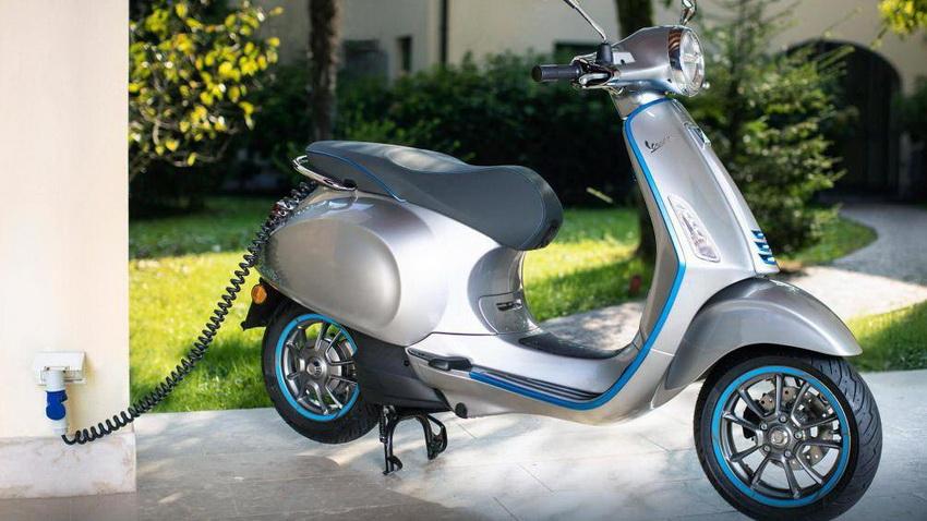 mẫu xe máy điện Vespa Elettrica