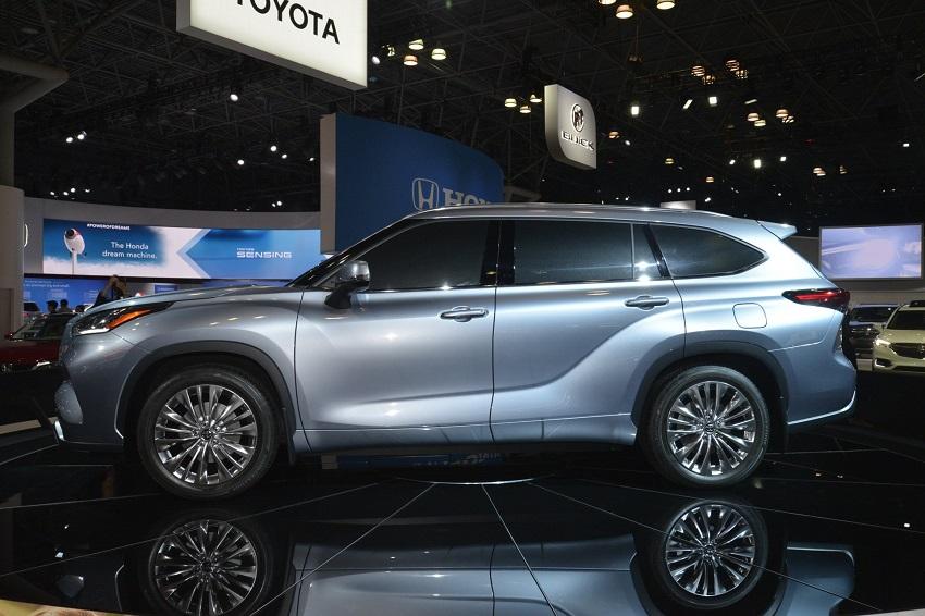 Toyota Highlander 2020 thế hệ mới 14