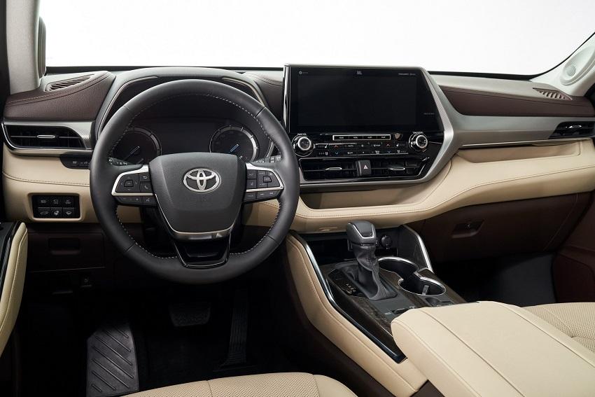Toyota Highlander 2020 thế hệ mới 9