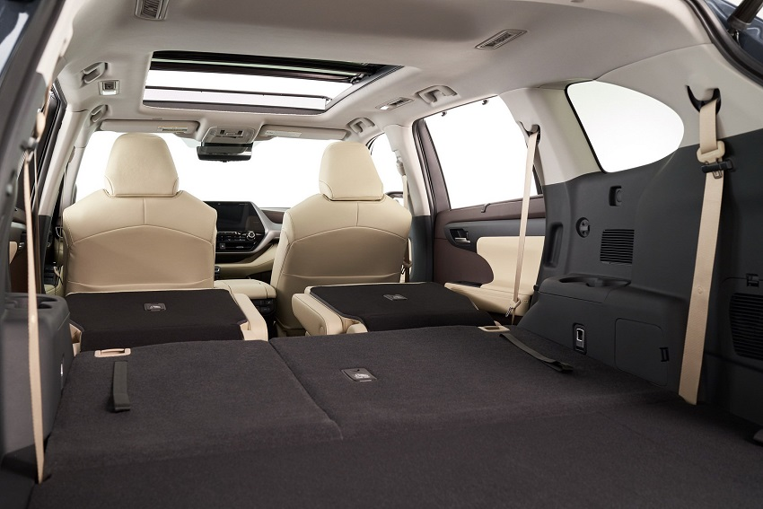 Toyota Highlander 2020 thế hệ mới 13