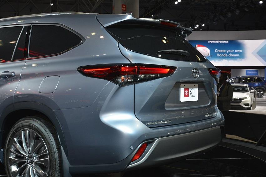 Toyota Highlander 2020 thế hệ mới 4