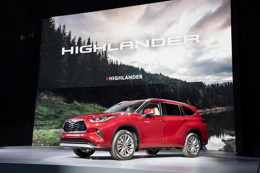 Toyota Highlander 2020 thế hệ mới 6