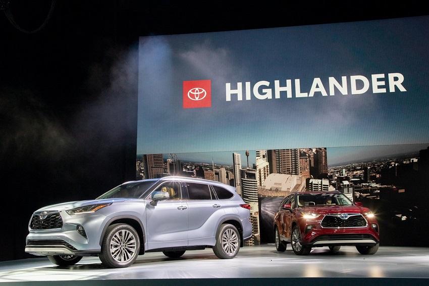 Toyota Highlander 2020 thế hệ mới 15