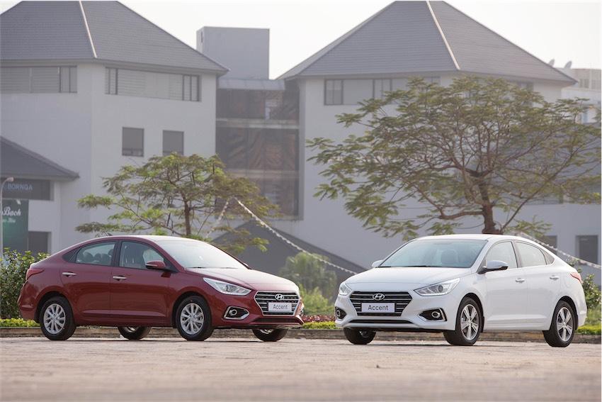 Hyundai Accent tiếp tục giữ vững ngôi vị số 1 về doanh số.