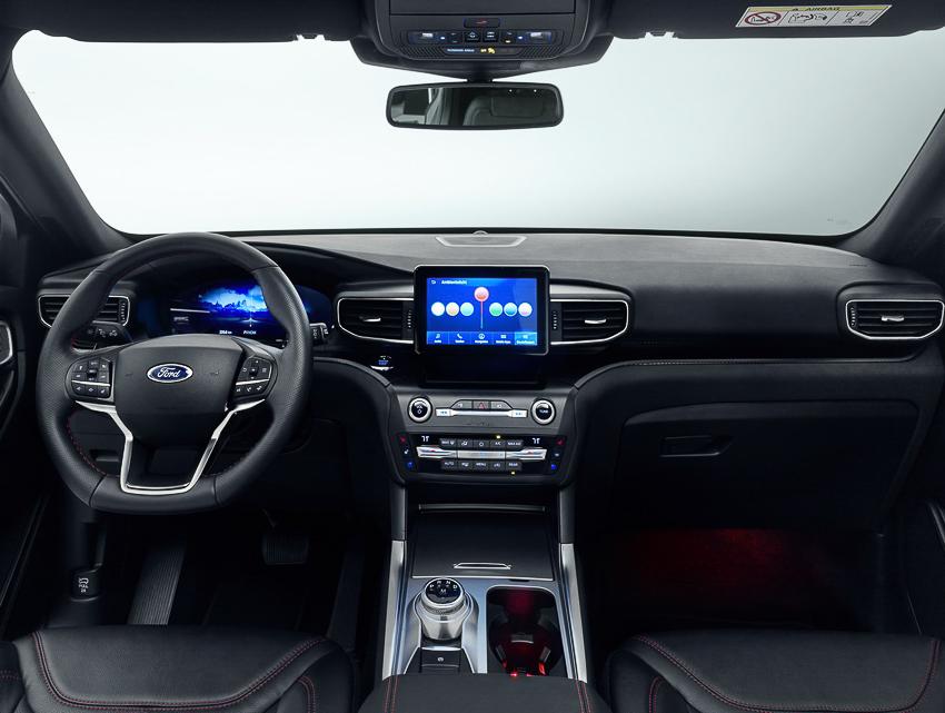 Ford Explorer phiên bản hybrid - 11