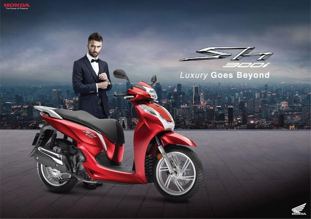 Honda SH300i 2019 có giá hơn 276 triệu đồng tại Việt Nam - 03