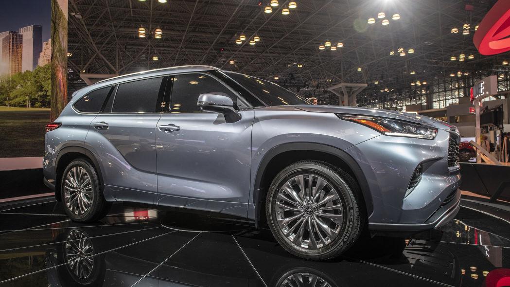 Toyota Highlander 2020 thế hệ mới - 01