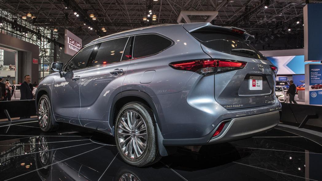 Toyota Highlander 2020 thế hệ mới - 02