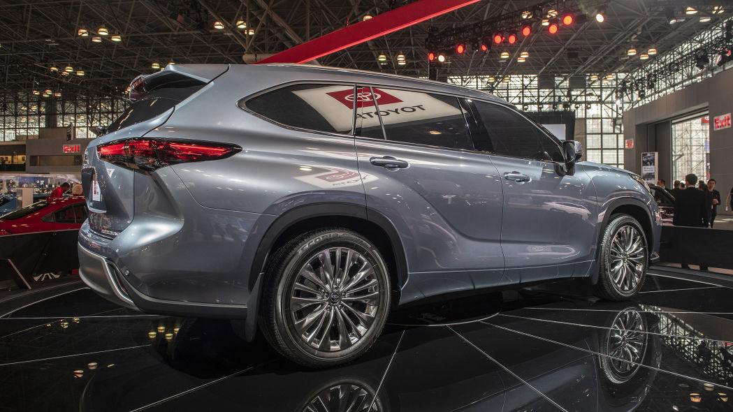 Toyota Highlander 2020 thế hệ mới - 04