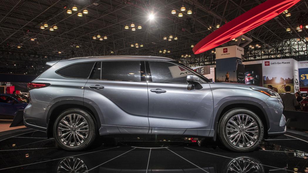Toyota Highlander 2020 thế hệ mới - 05