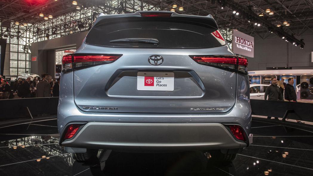 Toyota Highlander 2020 thế hệ mới - 07
