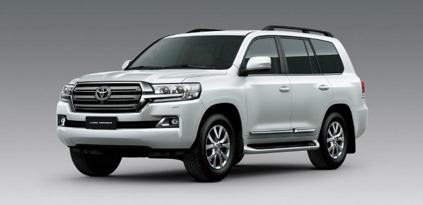 Toyota Land Cruiser mới nhất 2019