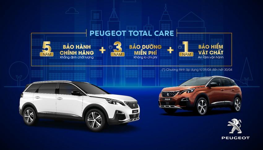 ưu đãi dành cho khách hàng mua xe Peugeot
