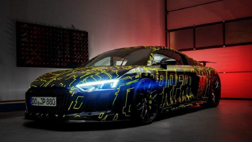 nội thất Audi R8 V10