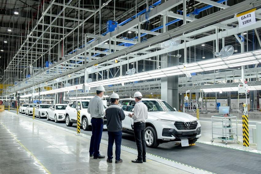 Nhà máy sản xuất ô tô Vinfast
