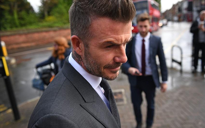 Cựu danh thủ David Beckham bị cấm lái xe 6 tháng do phạm luật - 2