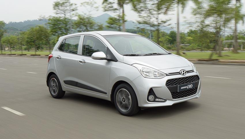 Top 10 mẫu xe bán chạy nhất tháng 4-2019
