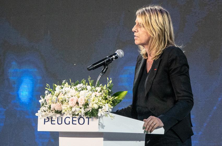 Bà Laurence Noel Tổng Giám đốc PSA Đông Nam Á.