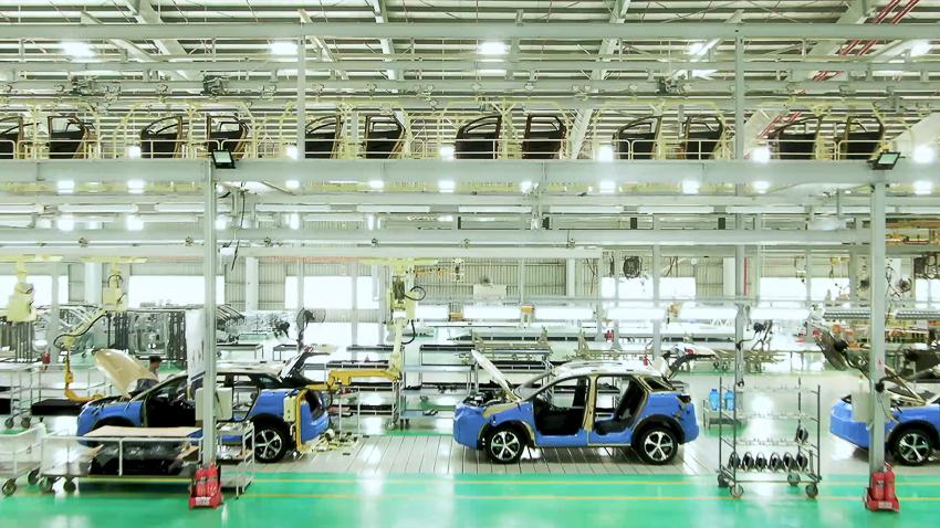 Thaco khánh thành nhà máy xe Du lịch cao cấp công suất 20.000 xe/năm - 2