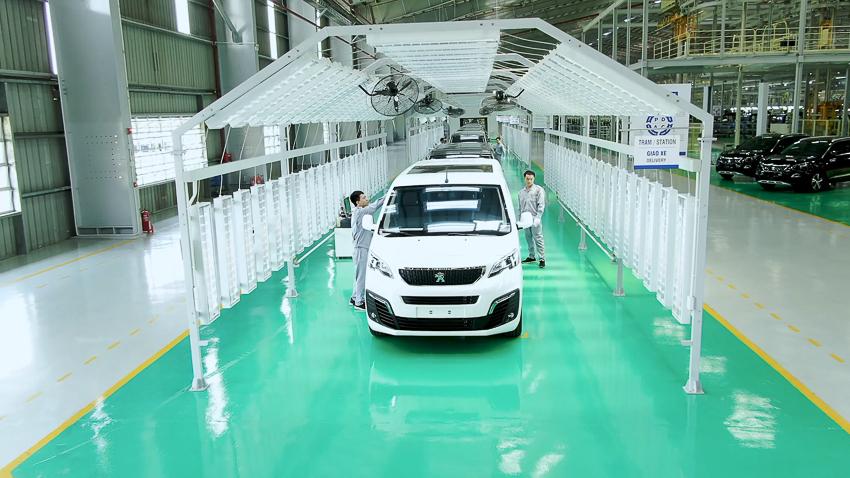 Thaco khánh thành nhà máy xe Du lịch cao cấp công suất 20.000 xe/năm - 8