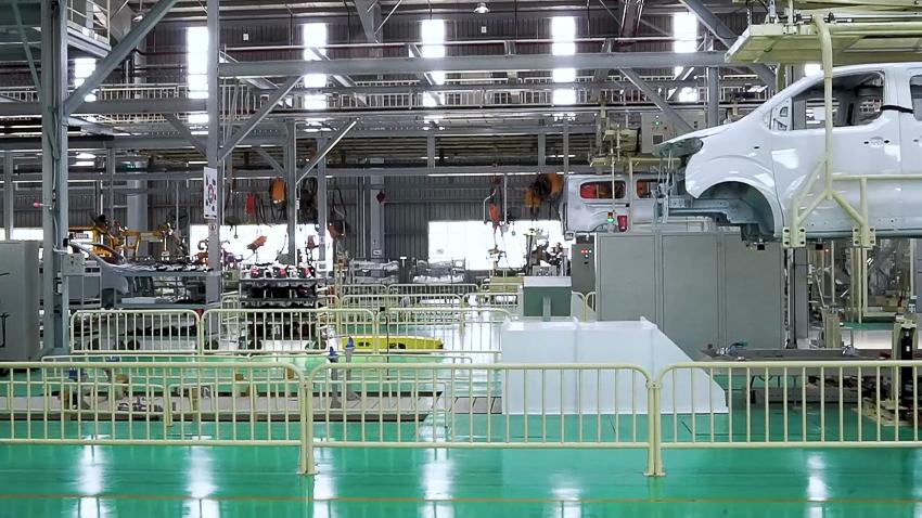 Thaco khánh thành nhà máy xe Du lịch cao cấp công suất 20.000 xe/năm - 9