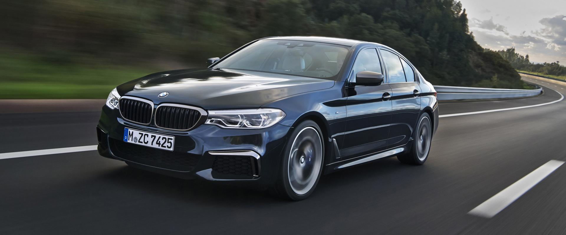 BMW M550i 2020 trang bị động cơ V8 4.4L - 08
