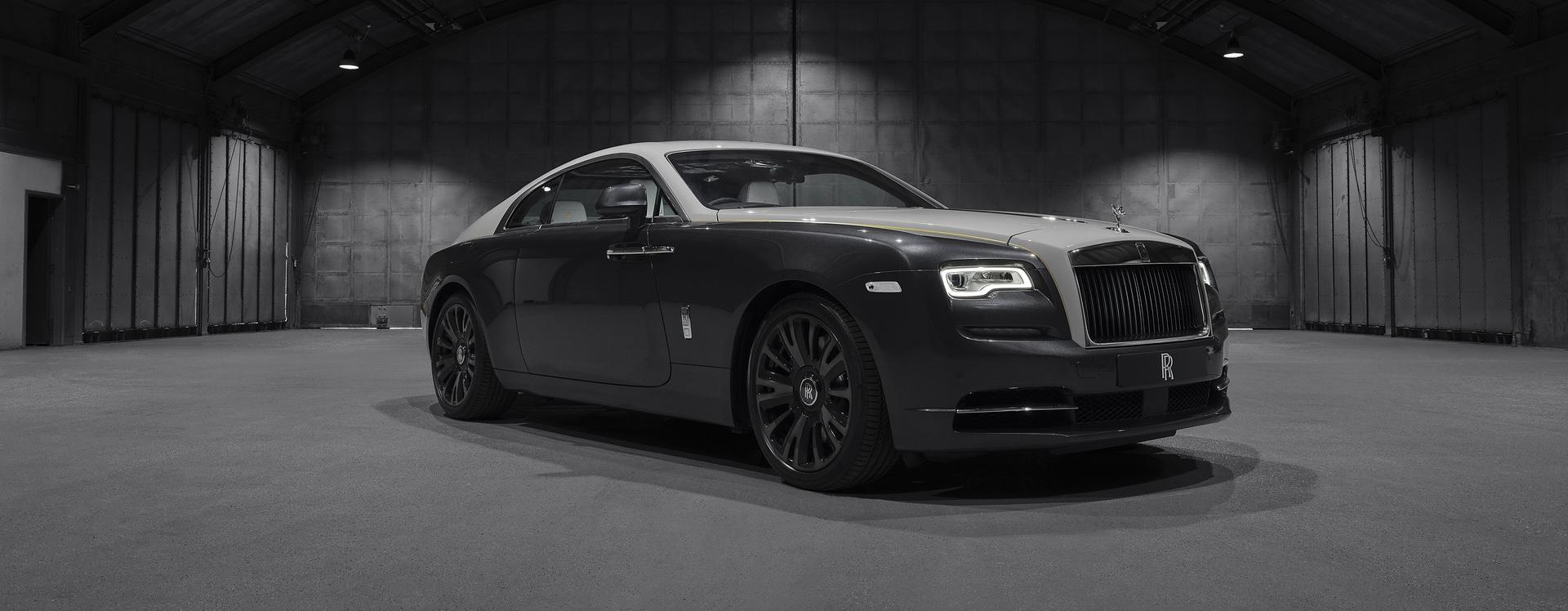 Rolls-Royce Wraith Eagle VIII siêu sang tái hiện chuyến bay lịch sử 100 năm trước - 01