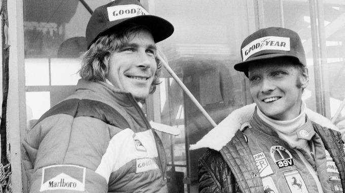 Niki Lauda và James Hunt đã có một cuộc cạnh tranh khốc liệt. Nguồn: AP